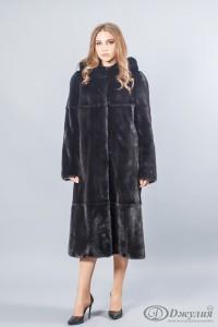 Меховое пальто А-25